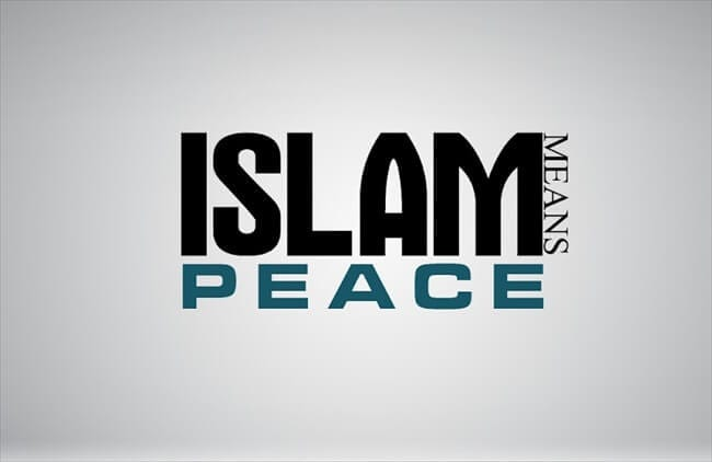 Islam mean Peace