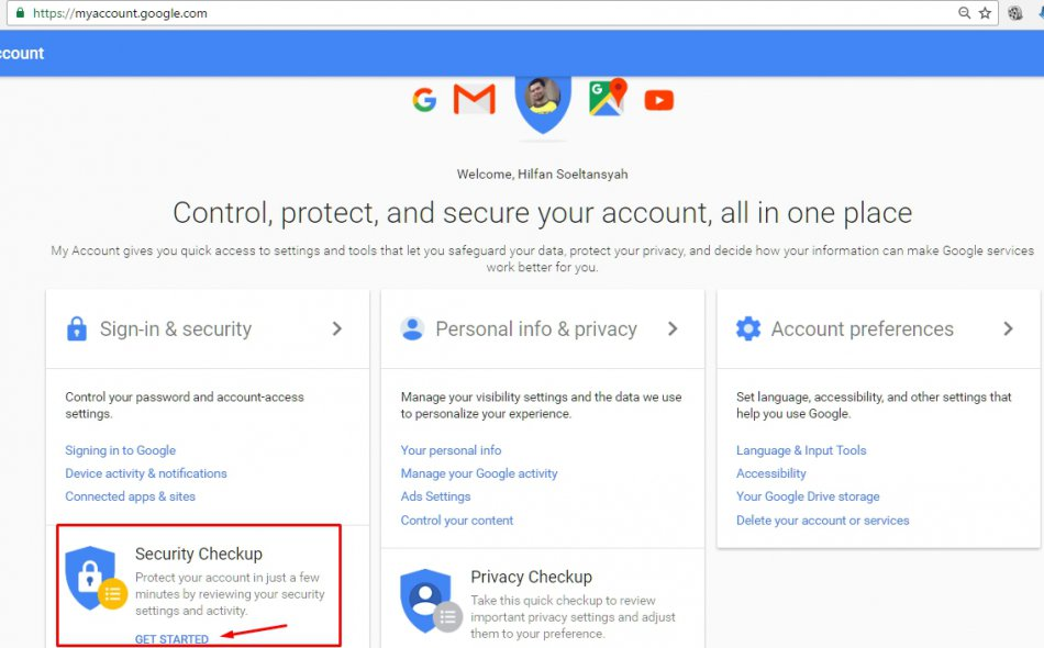 security gmail