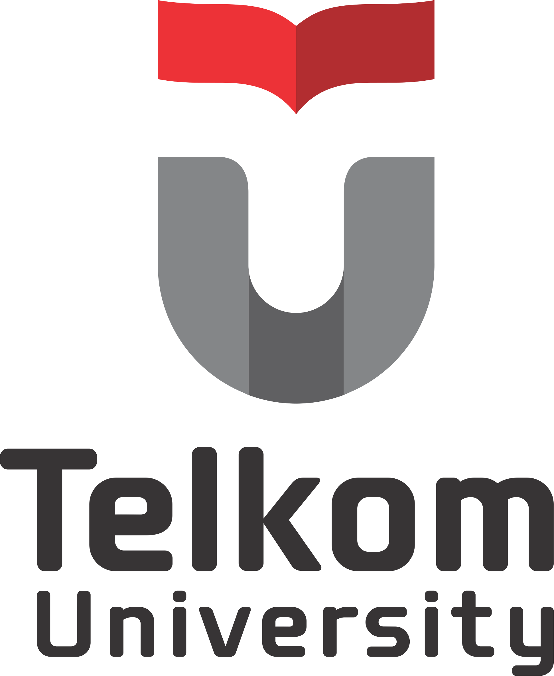 Logo Telkom University Potrait